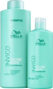 Kit Wella Invigo Volume Boost Salon (1 Litro) Máscara (500ml)
