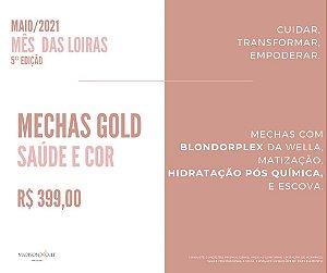 MECHAS GOLD SAÚDE E COR