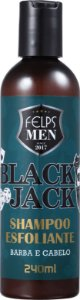 Felps Profissional Men Black Jack Esfoliante - Shampoo Multifuncional 240ml