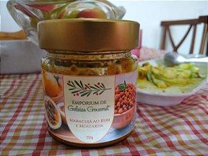 Chutney de Maracujá ao Rum e Mostarda de Dijon