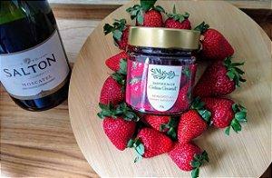 Geleia Morango e Vinho Moscatel