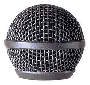 Globo para Microfone com fio LeSon SM-58 Prata