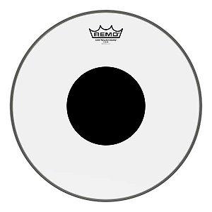 "Pele Remo 10"" Controlled Transparente Circ.Bk CS-0310-10"