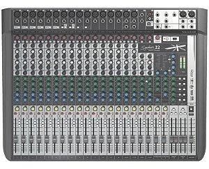 Mesa Soundcraft 22 Canais Signature 22MTK