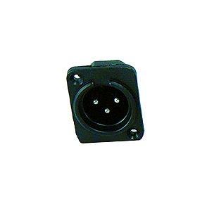 Plug Canon Macho Painel Plastico CSR SK-068
