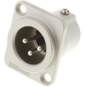 Plug Canon Macho Painel Amphenol AC3MMDZ