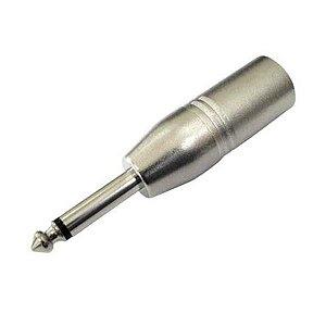 Plug Adaptador CSR XLR Macho/P10 SK-082