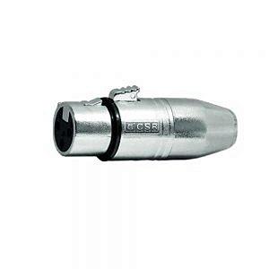 Plug Adaptador CSR Mini M.x Plug Canon Femea 509