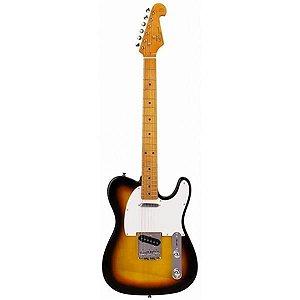 Guitarra SX Telecaster STL50 3TS Sunbusrt com capa