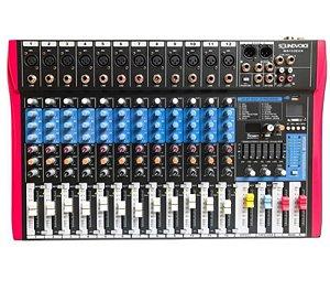 Mesa De Som Soundvoice 12 Canais MS122 EUX