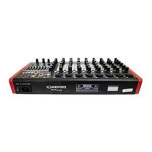 Mesa De Som Compacta Soundvoice MC10 PLUS EUX