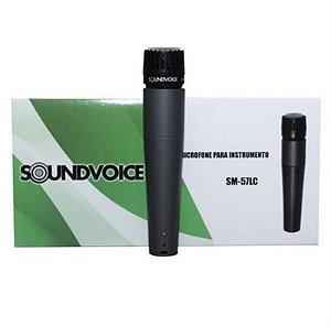 Microfone Com Fio Soundvoice SM-57LC