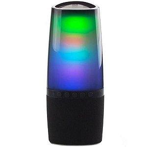 Caixa De Som Telefunken Light Pulse