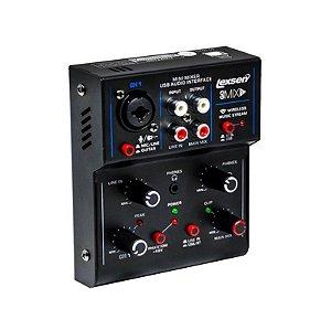 Mesa De Som Lexsen 1 Canal USB Interface GOMIX1