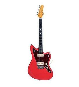 Guitarra Tagima Jaguar TW-61 Série Woodstock Fiesta Red