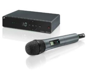 Microfone Sennheiser Sem Fio Mão XSW1-825-A