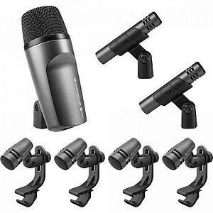 Kit Microfone Para Bateria Sennheiser E600
