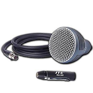 Microfone JTS CX-520/MA-500 Harmonica