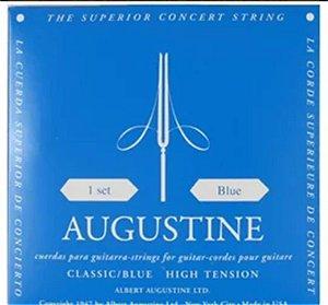 Encordoamento Augustine para Violão Nylon Classic/Blue H.Tension