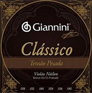 Encordoamento Giannini Nylon T.Leve 65/35 GENWPL 5934