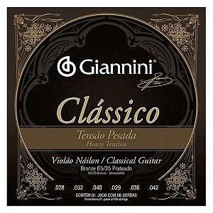 Encordoamento Giannini Nylon T.Pesada 65/35 GENWPA 5936