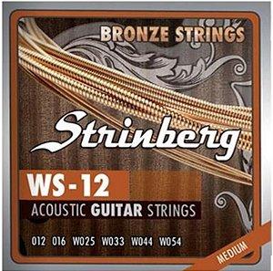 Encordoamento Strinberg para Violão Aço 0.12 WS-12