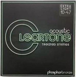 Encordoamento Cleartone para Violão Aço 0.10 7410