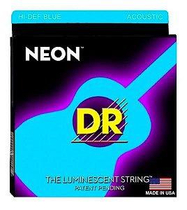 Encordoamento DR. Violão 0.12 Neon Blue NBA-12