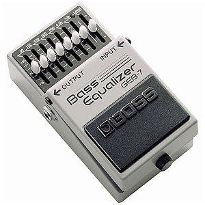 Pedal Boss Bass Equalizer GEB-7
