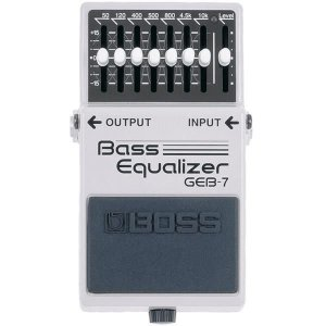 Pedal Boss Bass Equalizer GEB-7