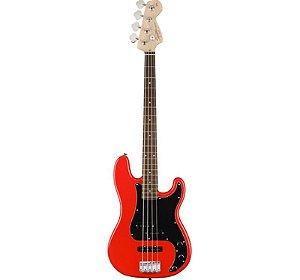C.Baixo Fender Squier 4c. P.Bass Affinity Red 570