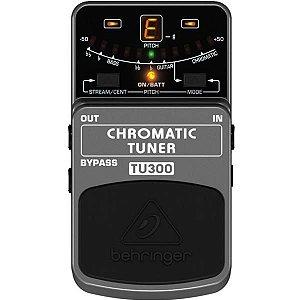 Pedal Behringer Afinador Chromatic Tuner TU-300