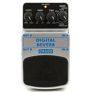Pedal Behringer Digital Reverb DR-600
