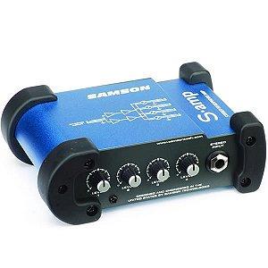 Amplificador Samson de Headphone S. Monitor