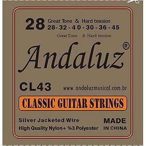 Encordoamento Andaluz para Violão Nylon CL-43