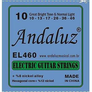 Encordoamento Andaluz para Guitarra 0.10 EL-460