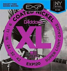 Encordoamento D'addario para Guitarra 0.09 EXP-120