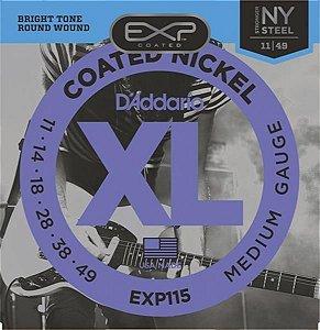 Encordoamento D'addario para Guitarra 0.11 EXP-115