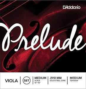 Encordoamento D'addario para Viola 4/4M Prelude J-910MM