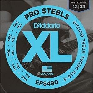 Encordoamento D'addario Pedal Steel EPS-490