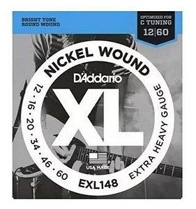 Encordoamento D'addario para Guitarra 0.12 EXL-148