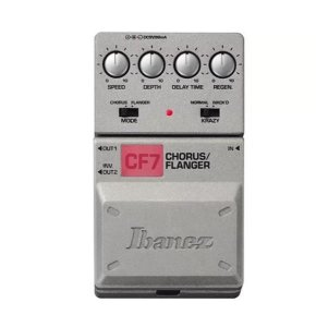 Pedal Ibanez Chorus/Flanger CF7