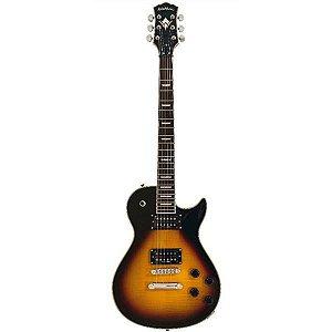Guitarra Washburn Les Paul WINDLXFVSB Flame
