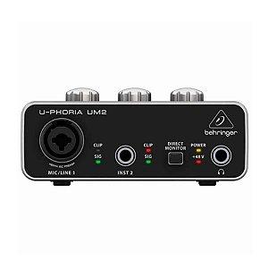 Interface De Audio Behringer UM2