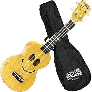 Ukulele Mahalo Soprano Amarelo U-SMILE TBS