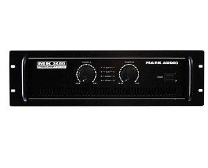 Amplificador Mark Audio MK-2400 (400W)