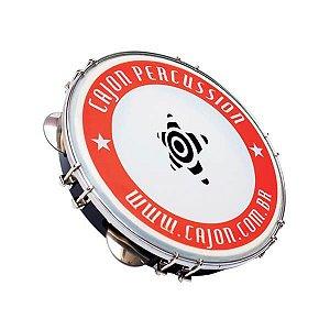 "Pandeiro Cajon Percussion 10"" Nylon Inox SPZ1009N"