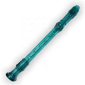 Flauta Yamaha Doce Soprano Barroca YRS20BB Azul 8216