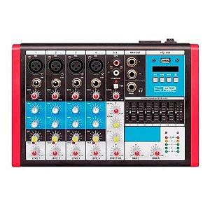 Mesa De Som Compacta Soundvoice MC6 EUX