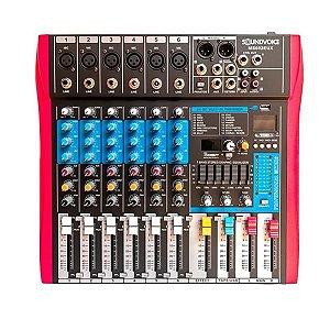Mesa De Som Soundvoice MS602 MAX